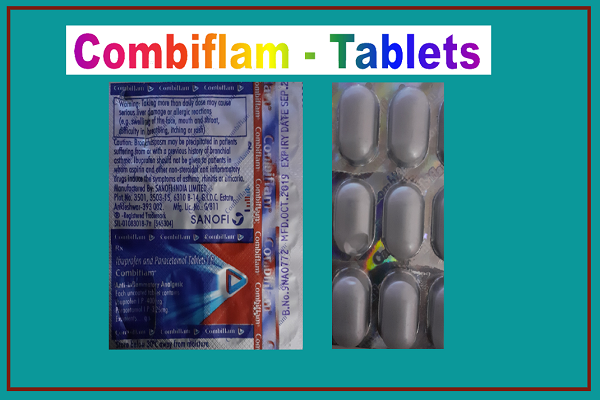Combiflam Tablet in Hindi Combiflam Uses- Benefits-Side Effects in Hindi, Combiflam Ke Fayde Aur Nuksan