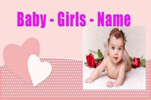 Cute Girl Names - Happy Family - Popular Baby Girl Names